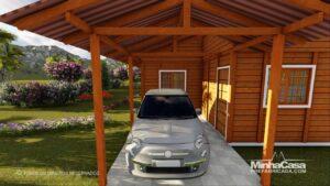 Com garagem