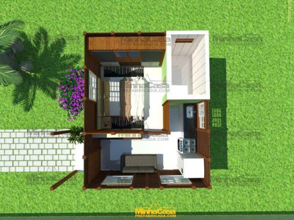 Minha casa pré fabricada modelo Penha 12