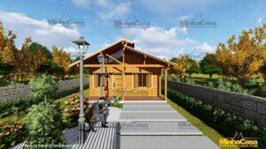 Casa de madeira Modelo Araquari 01
