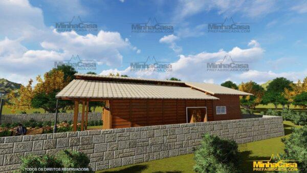 Casa de madeira Modelo Araquari 03