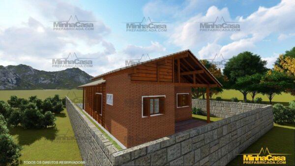 Casa de madeira Modelo Araquari 05