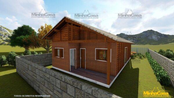 Casa de madeira Modelo Araquari 06