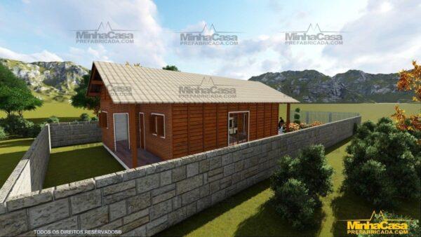 Casa de madeira Araquari 07