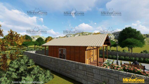 Casa de madeira Modelo Araquari 08
