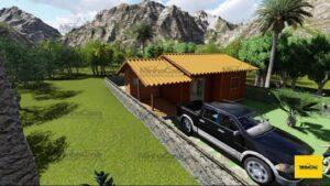 Casa pré fabricada modelo alto são bento 02