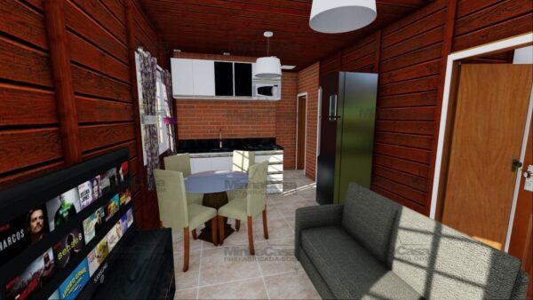 Minha casa pré fabricada Blumenau 10