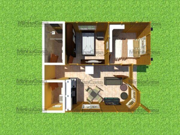 Minha casa pré fabricada Blumenau 15