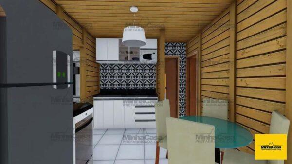 Minha casa pré fabricada Modelo barra velha 04