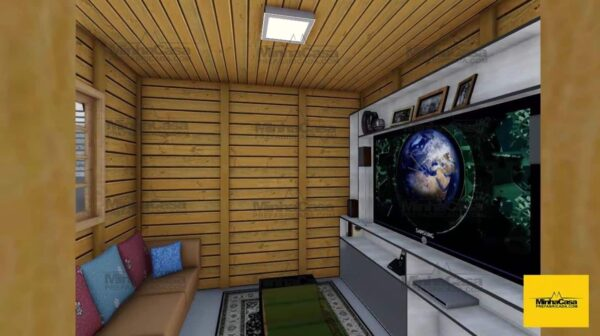 Minha casa pré fabricada Modelo barra velha 06