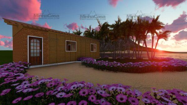 Minha casa pré fabricada modelo Canelinha 01