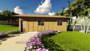 Minha casa pré fabricada modelo Canelinha 03