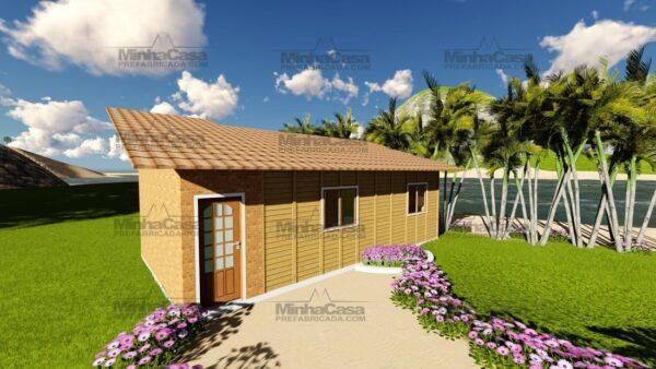 Minha casa pré fabricada modelo Canelinha 05