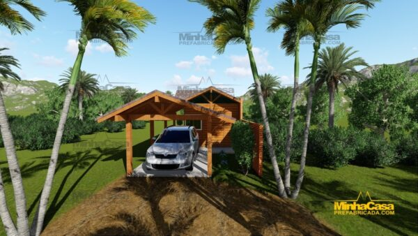 Minha casa pré fabricada modelo Cascavel 01
