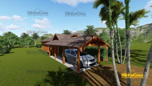 Minha casa pré fabricada modelo Cascavel 02