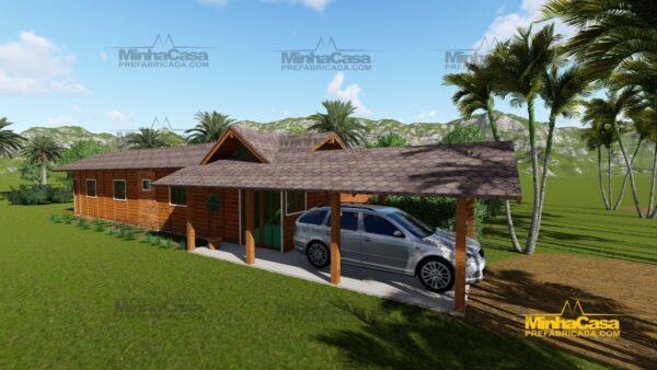 Minha casa pré fabricada modelo Cascavel 03