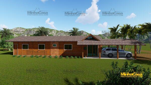 Minha casa pré fabricada modelo Cascavel 04
