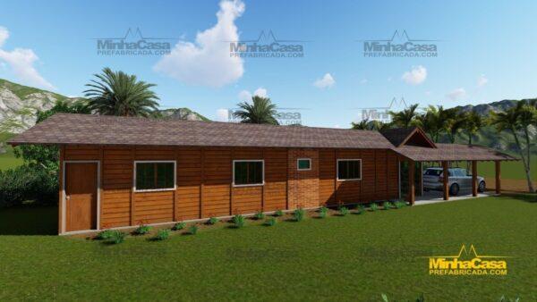 Minha casa pré fabricada modelo Cascavel 05