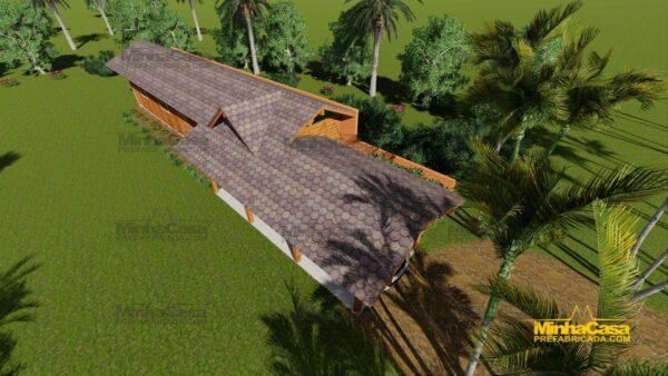 Minha casa pré fabricada modelo Cascavel 06