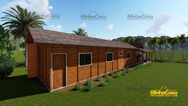 Minha casa pré fabricada modelo Cascavel 07
