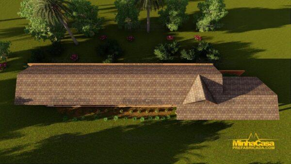 Minha casa pré fabricada modelo Cascavel 09