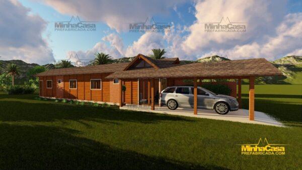Minha casa pré fabricada modelo Cascavel 12