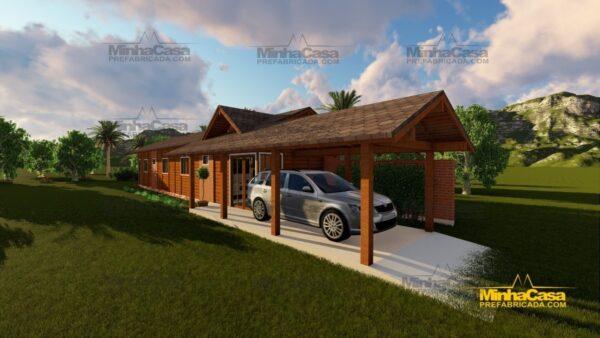 Minha casa pré fabricada modelo Cascavel 13