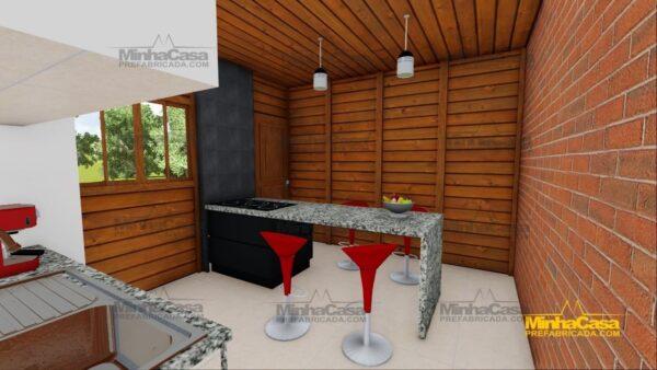 Minha casa pré fabricada modelo Cascavel 15