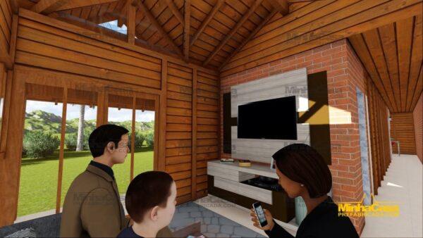 Minha casa pré fabricada modelo Cascavel 21