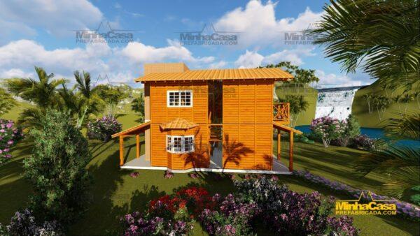 Minha casa pré fabricada modelo Chapecó 03