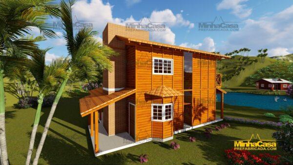 Minha casa pré fabricada modelo Chapecó 04