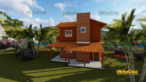 Minha casa pré fabricada modelo Chapecó 05