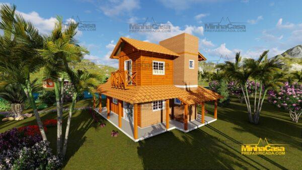 Minha casa pré fabricada modelo Chapecó 06