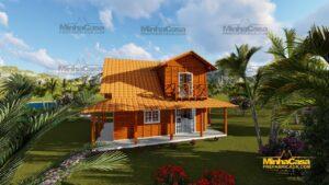 Minha casa pré fabricada modelo Chapecó 07