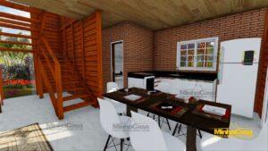 Minha casa pré fabricada modelo Chapecó 10