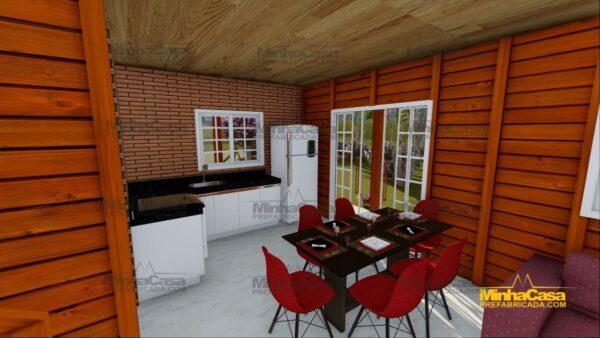 Minha casa pré fabricada modelo Chapecó 12