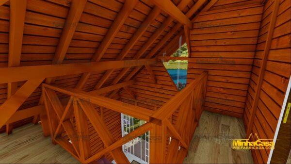 Minha casa pré fabricada modelo Chapecó 14