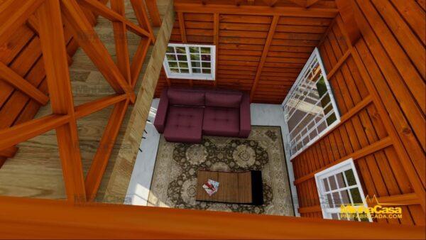 Minha casa pré fabricada modelo Chapecó 15