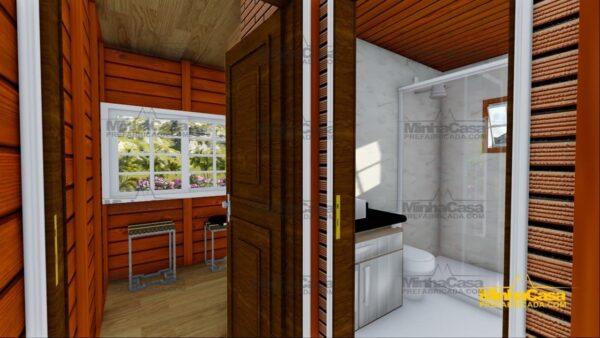 Minha casa pré fabricada modelo Chapecó 18