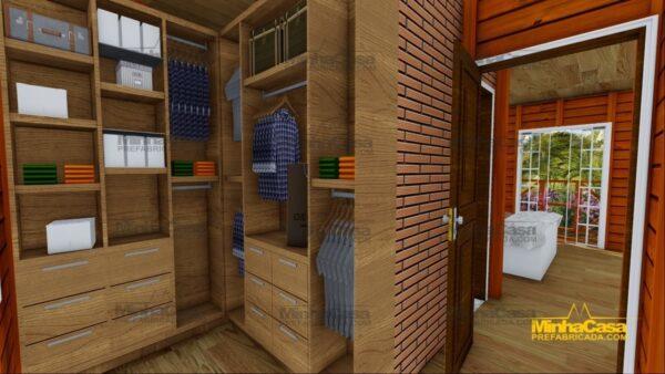 Minha casa pré fabricada modelo Chapecó 19