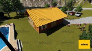 Minha casa pré fabricada modelo Criciúma 02