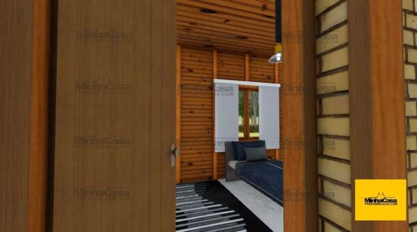Minha casa pré fabricada modelo Criciúma 04