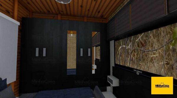 Minha casa pré fabricada modelo Criciúma 05