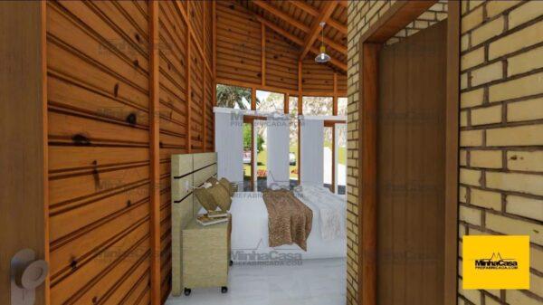 Minha casa pré fabricada modelo Criciúma 06