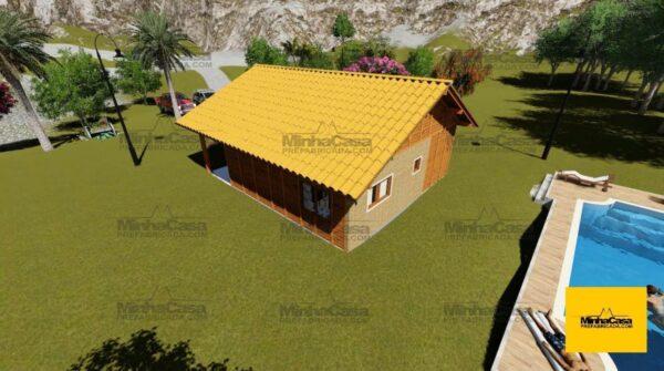 Minha casa pré fabricada modelo Criciúma 09