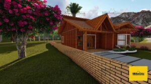 Minha casa pré fabricada modelo Criciúma II 02