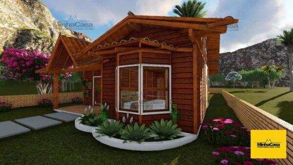 Minha casa pré fabricada modelo Criciúma II 03