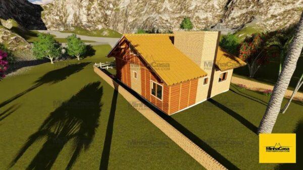 Minha casa pré fabricada modelo Criciúma II 04