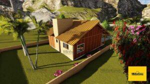 Minha casa pré fabricada modelo Criciúma II 05