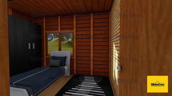 Minha casa pré fabricada modelo Criciúma II 07