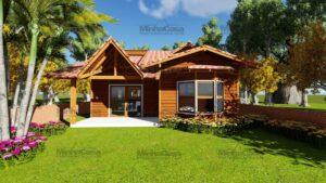 Minha casa pré fabricada modelo Criciúma II 12